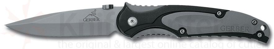 Gerber PR 3.0 Features 440A Stainless Steel Plain Edge Blade