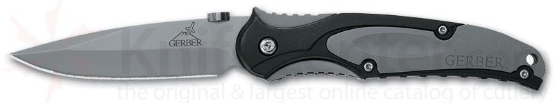 Gerber PR 2.5 Features 440A Stainless Steel Plain Edge Blade