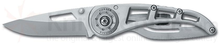 Gerber Ripstop Series I with 2.25 inch 440A Stainless Plain Edge Blade