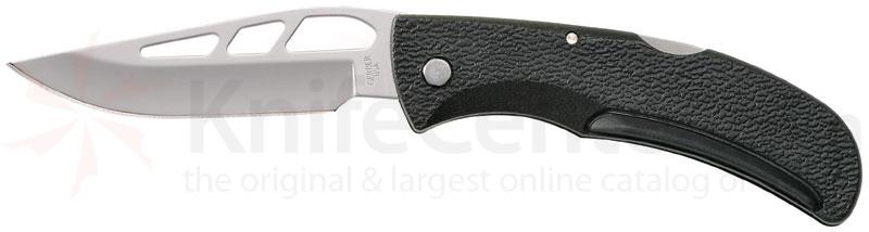 Gerber E-Z-Out Skeleton Folding Knife 3.52 inch Plain Blade, Nylon Handles