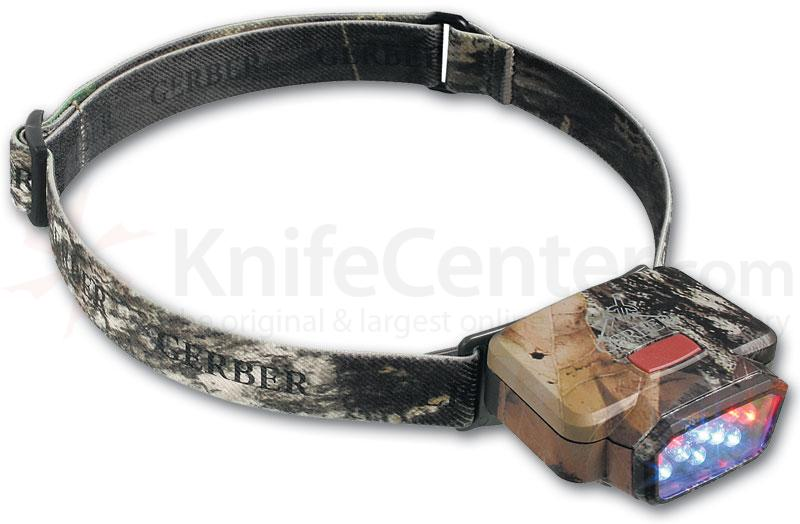 Gerber Carnivore LED Headlamp in Mossy Oak Break-Up Color