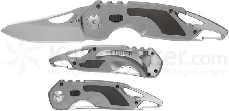 Gerber AO F.A.S.T. 3.0 Assisted 2.9 inch Plain Blade, Bottle Opener, Carabiner