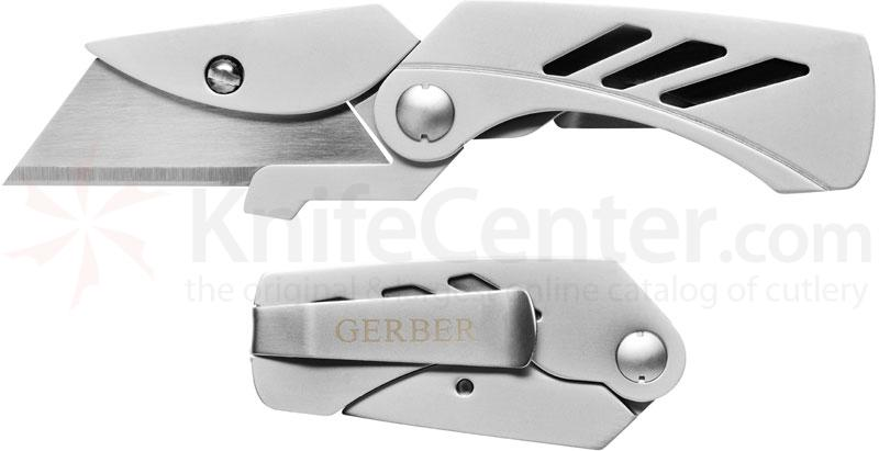 Gerber EAB Lite Replaceable Utility Blade Knife 2.25 inch Blade, Money Clip