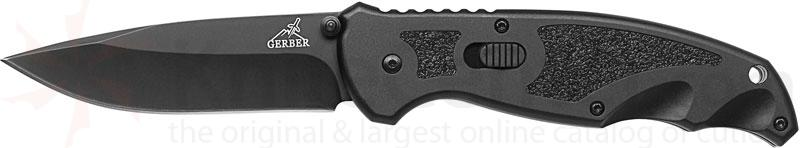 Gerber Answer 3.25 Folder FAST 3.25 inch Assisted Plain Drop Point Blade