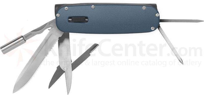 Gerber Fit Light Multi-Tool, Blue, LED Light, 4 inch Closed