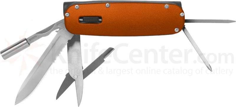 Gerber Fit Light Multi-Tool, Orange, LED Light, 4 inch Closed
