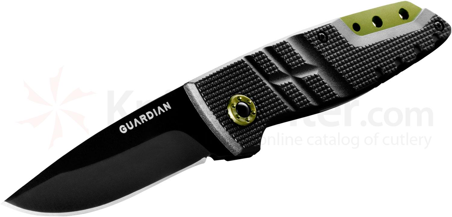 Gerber Guardian 31-001241 D2 3 inch Tactical Fixed Blade, Zytel Handles