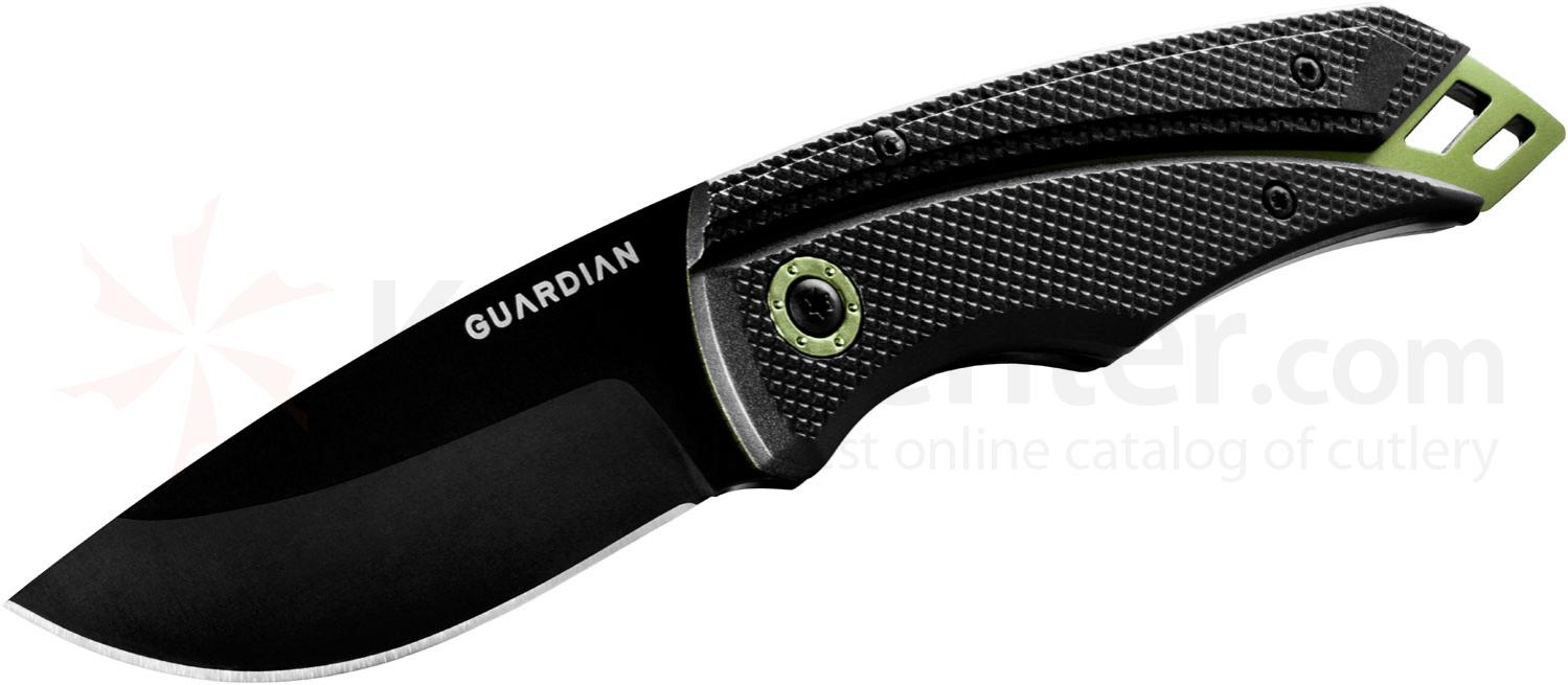 Gerber Guardian 31-001372 D2 3 inch Tactical Fixed Blade, Zytel Handles