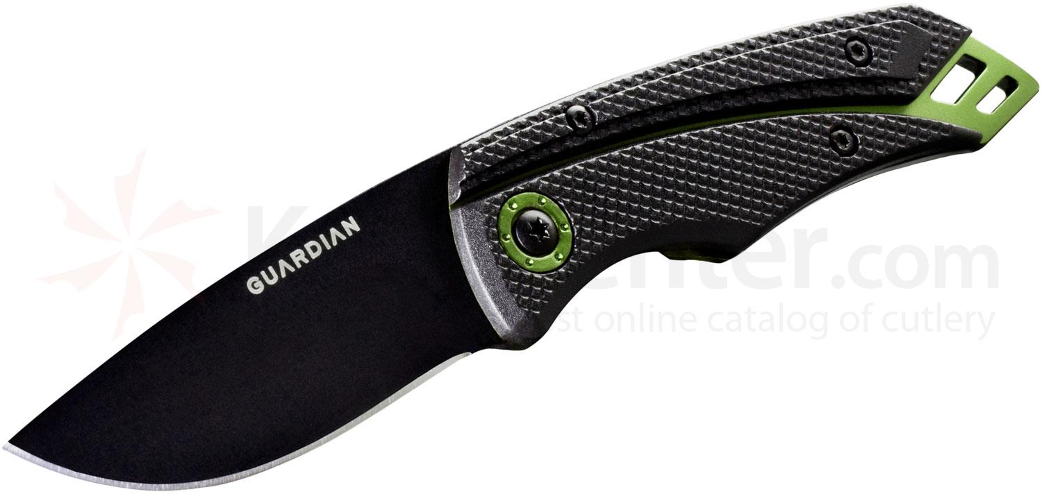 Gerber Guardian 31-001380 D2 2.5 inch Tactical Fixed Blade, Zytel Handles