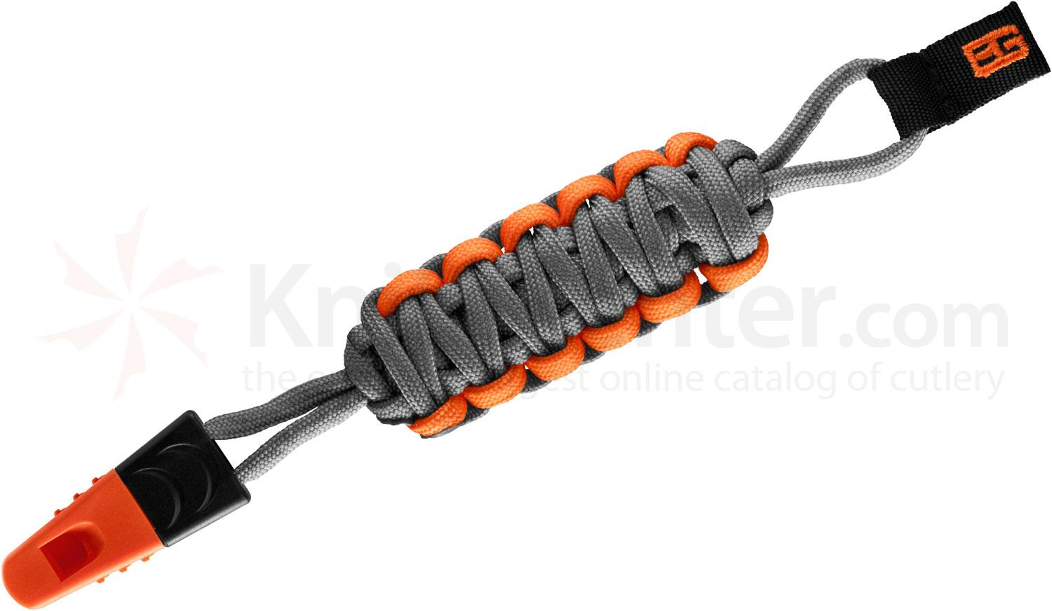 Gerber 31-001788 Bear Grylls Survival Lanyard, 5 inch Overall, 6 Feet of Paracord, Safety Whistle