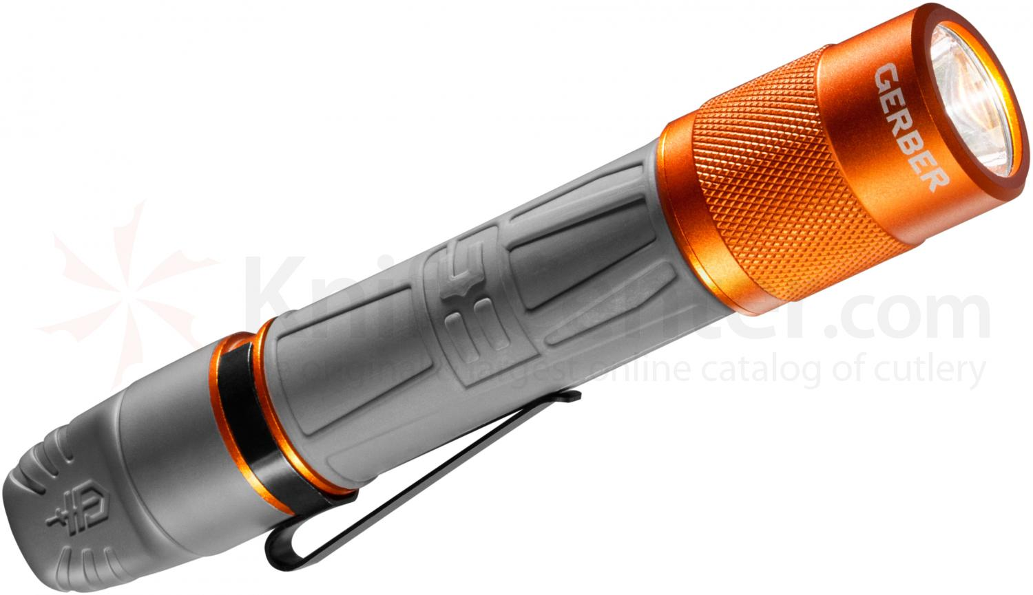 Gerber 31-001796 Bear Grylls Rechargeable Torch (LED Flashlight), 80 Max Lumens