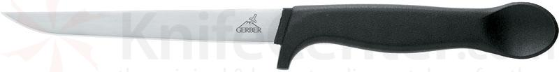Gerber Muskie Fillet Knife 6 inch Blade with Leather Sheath