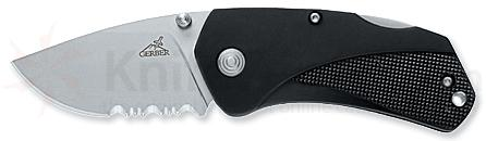 Gerber Fatty 2.28 inch Combo Edge Folder Zytel Handle Pocket Clip