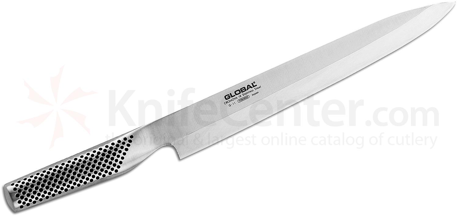 Global G-11R Kitchen 10 inch Yanagi Sashimi/Sushi Knife