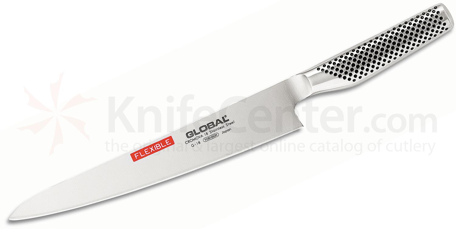 Global G-18 Kitchen 10 inch Fillet Knife, Flexible