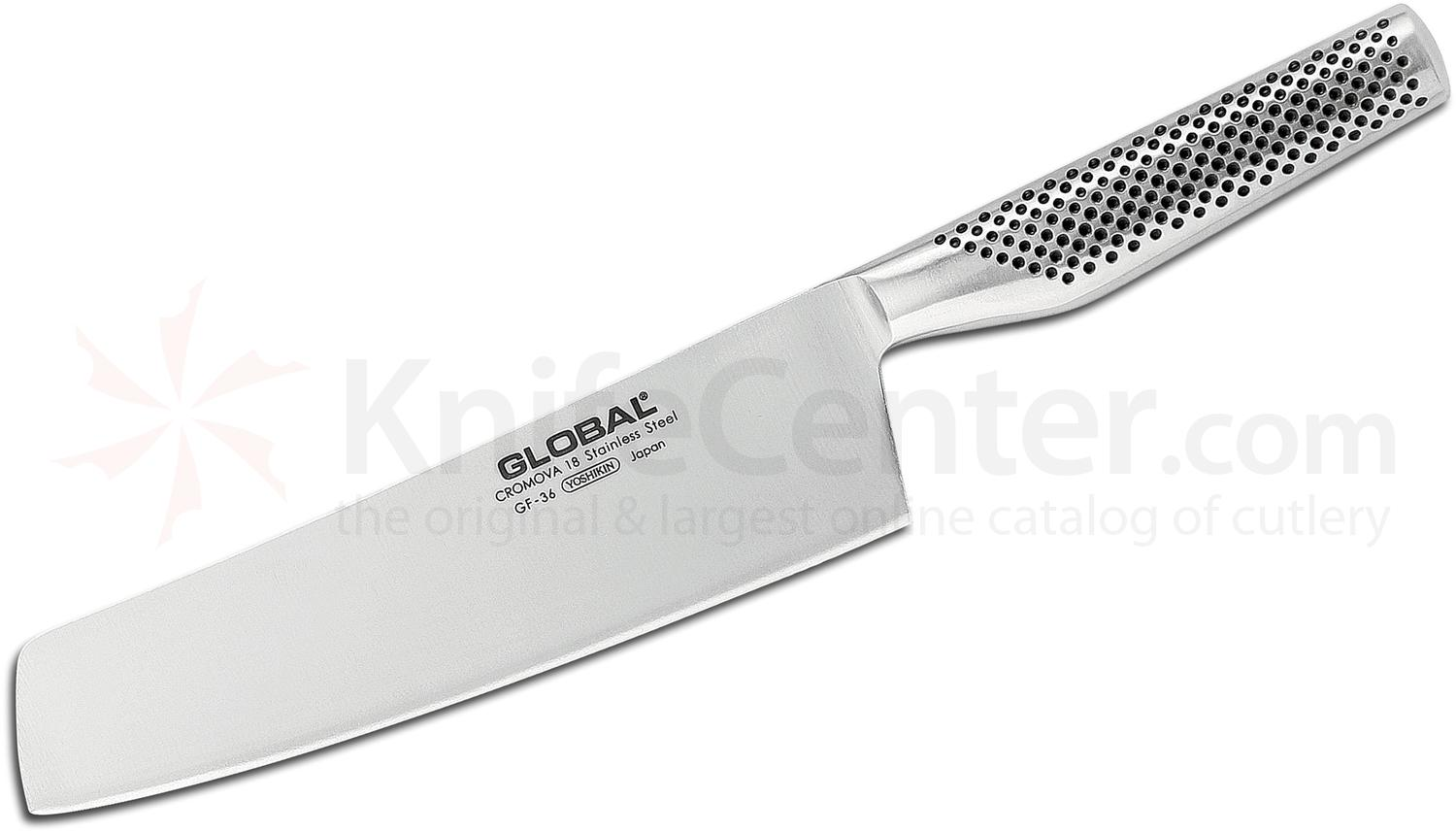 Global GF-36 Classic 8 inch Forged Vegetable/Nakiri Knife