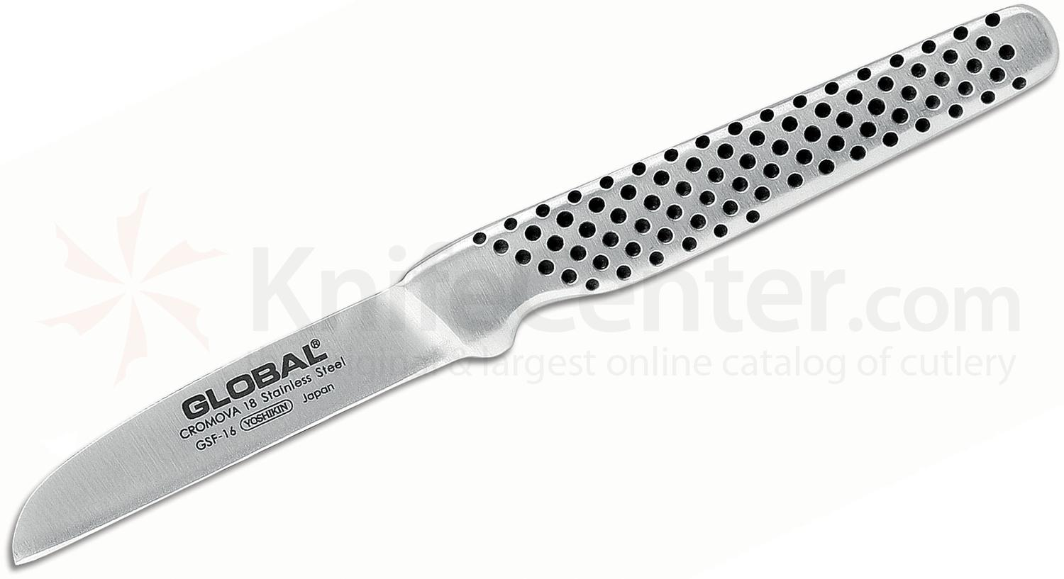 Global GSF-16 Kitchen 2.5 inch Peeling, Straight Knife