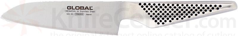 Global GS-35 Kitchen 5.25 inch Santoku Knife