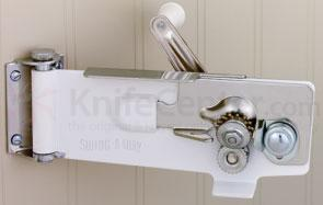 Swing-A-Way Wall Can Opener with Magnetic Lid-Lifter