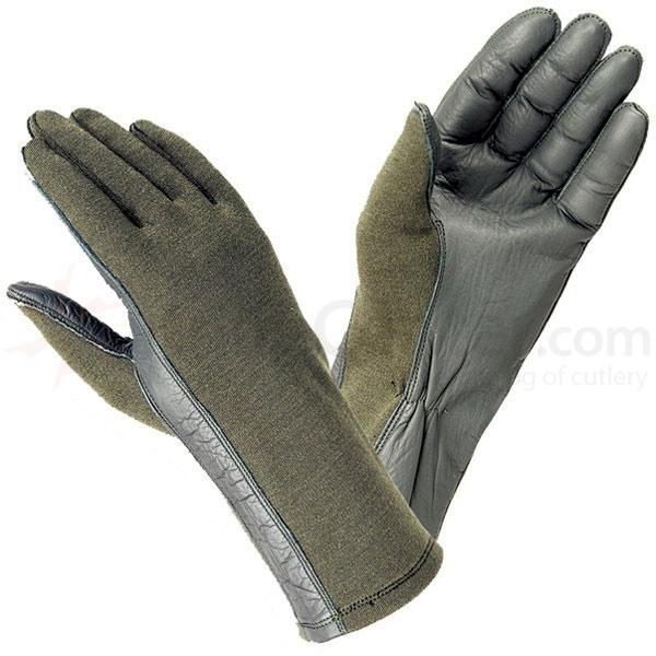 Hatch BNG200 Flight Gloves Glove with Nomex, Sage Green, S