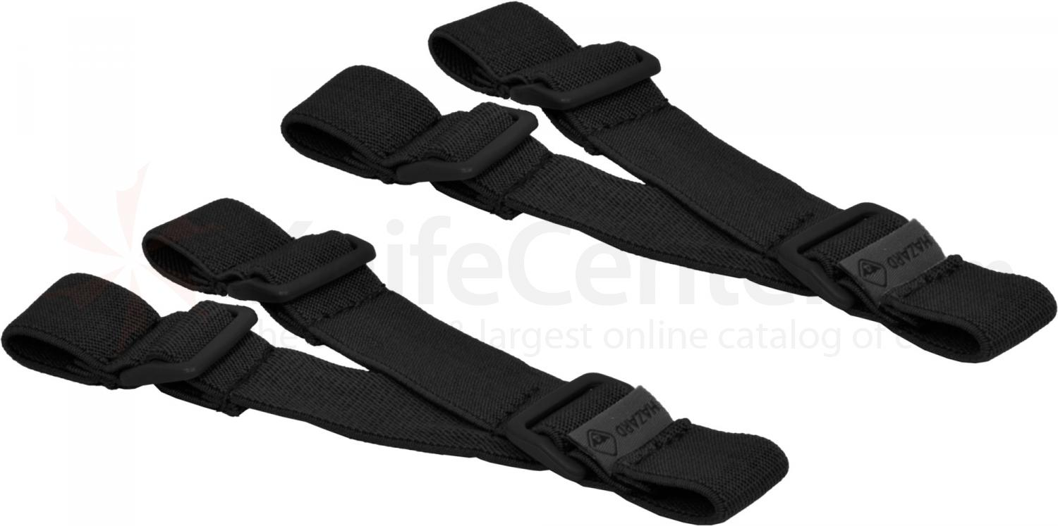 Hazard 4 Delta Elastic Strap Set of 2, Black