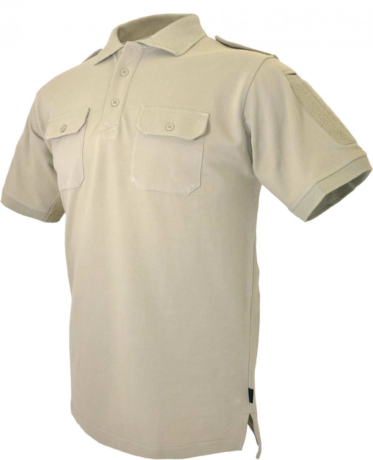 Hazard 4 LEO Uniform Replacement Battle Polo, Tan, 2X Large