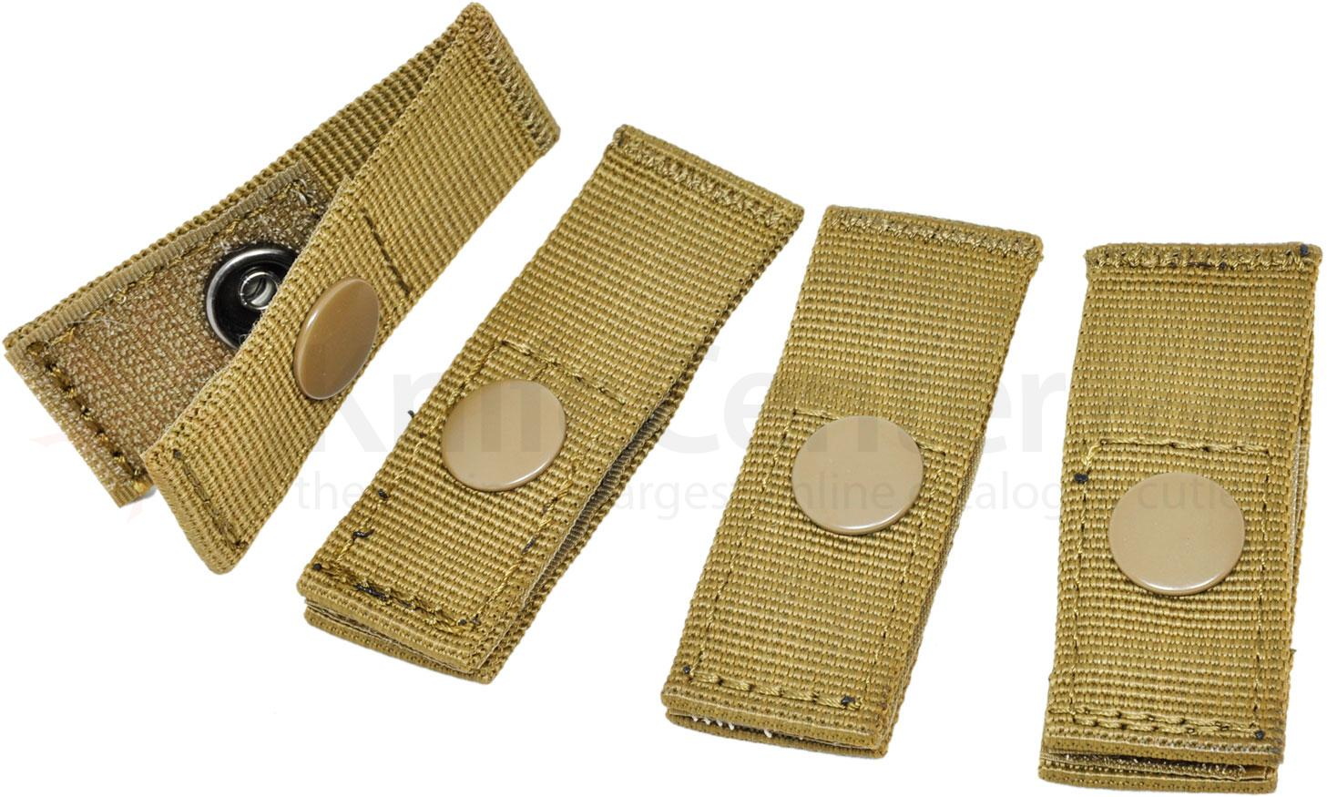 Hazard 4 MOLLE Pal Mounting Joints, Set of 4, Coyote
