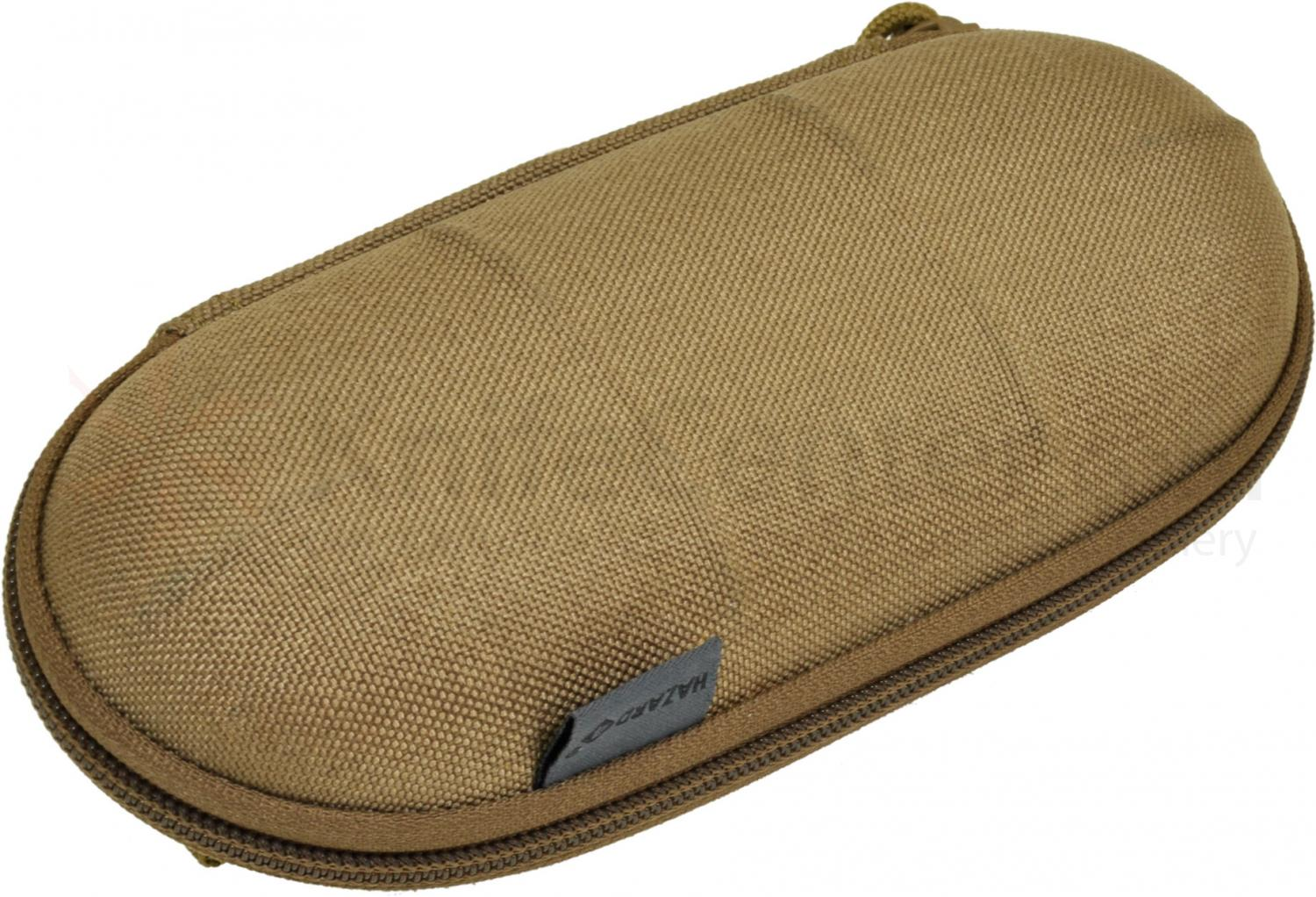 Hazard 4 Sub-Pod Large Sunglasses Hard Case, Coyote (1000D Cordura)