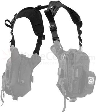 Hazard 4 Covert Anatomic RG Shoulder Harness, Black