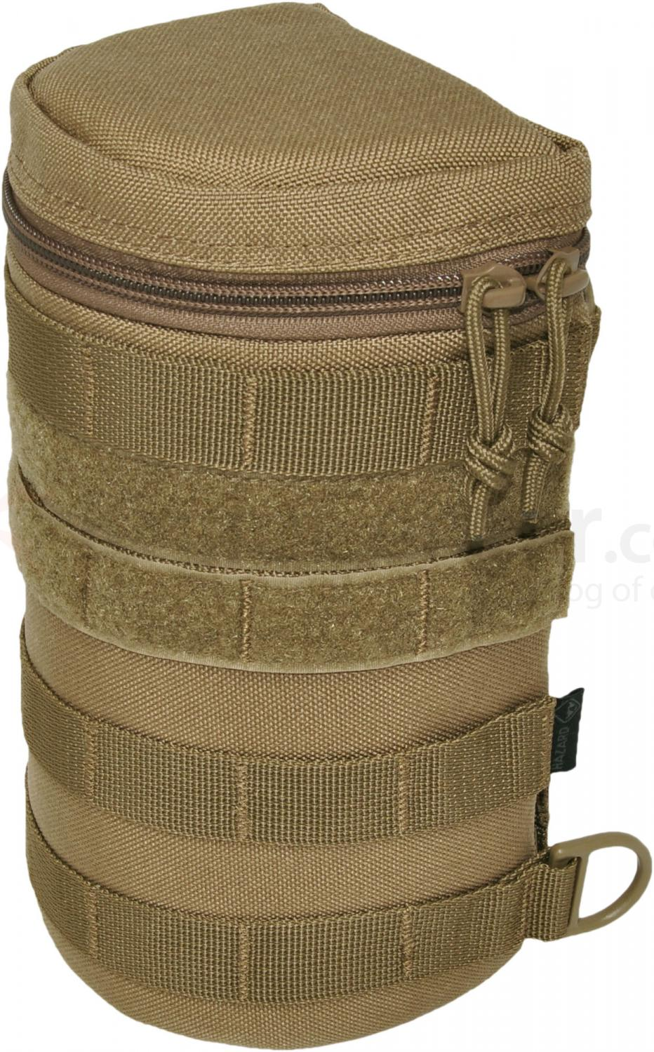 Hazard 4 Jelly Roll Padded MOLLE Lens/Bottle Case, Coyote