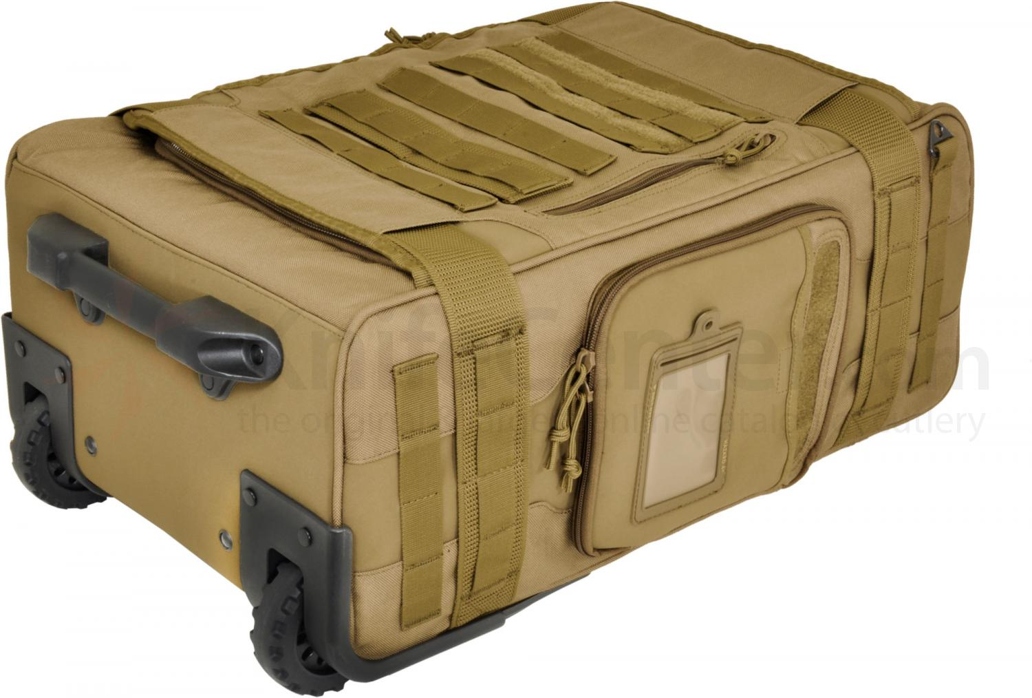 Hazard 4 Air Support Rugged Rolling Carry-On Luggage, Coyote