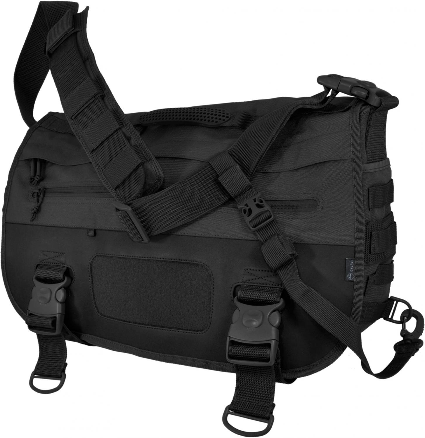 Hazard 4 Defense Courier Tactical Laptop Messenger Bag, Black