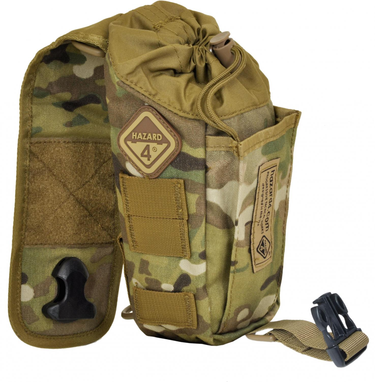 Hazard 4 Flip-Pouch Bottle/Magazine Pouch, MultiCam