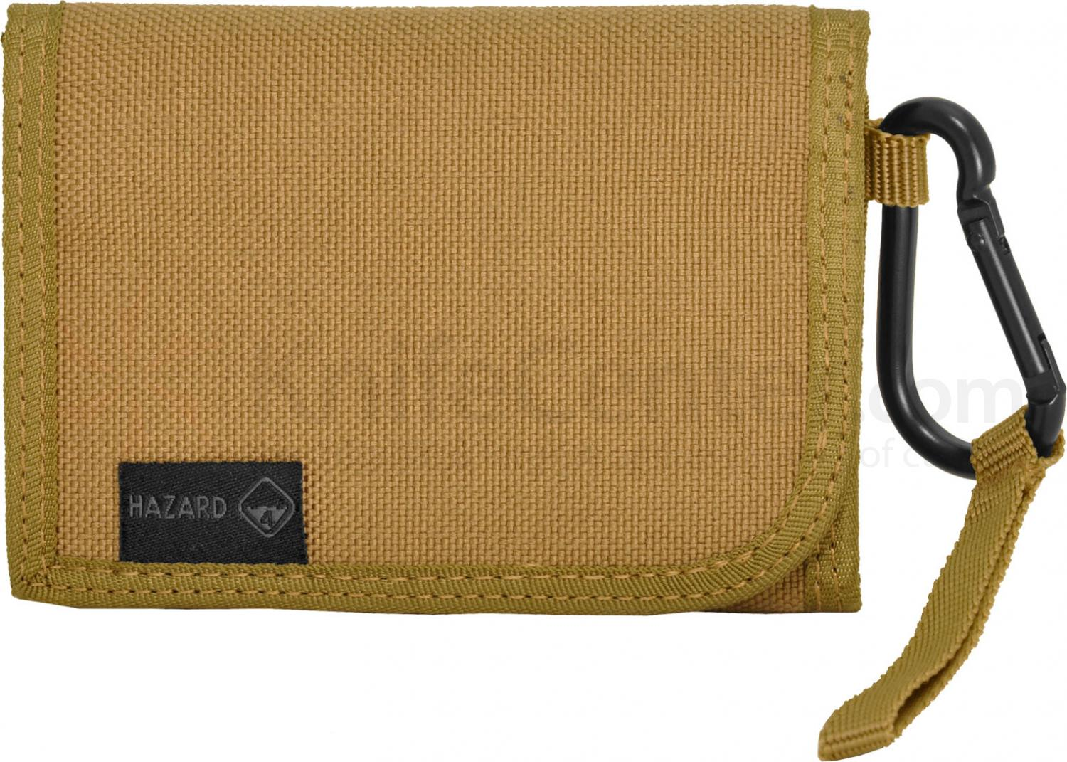 Hazard 4 Mil-Wafer Slim Biner Wallet, Coyote (1000D Cordura)