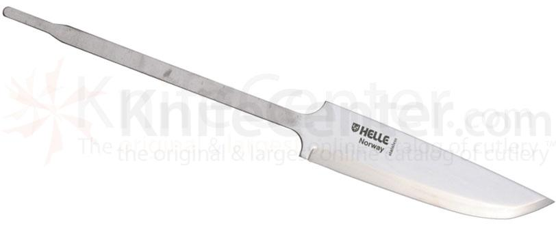 Helle Odel Knife Making Blade 3-5/8 inch Triple Laminated Stainless Steel, 8 inch Overall
