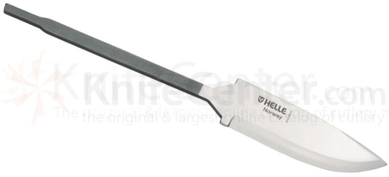 Helle Turmann Knife Making Blade 3-1/4 inch Triple Laminated Stainless Steel Blade