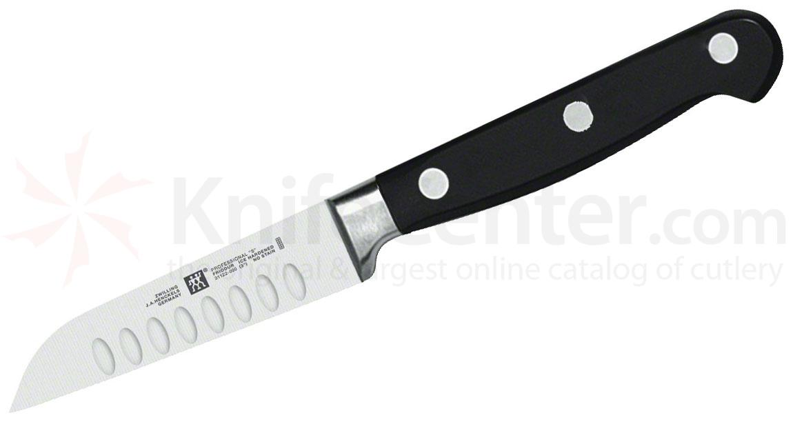 Zwilling J.A. Henckels TWIN Pro 'S' 3 inch Kudamono Paring Knife, Hollow Edge