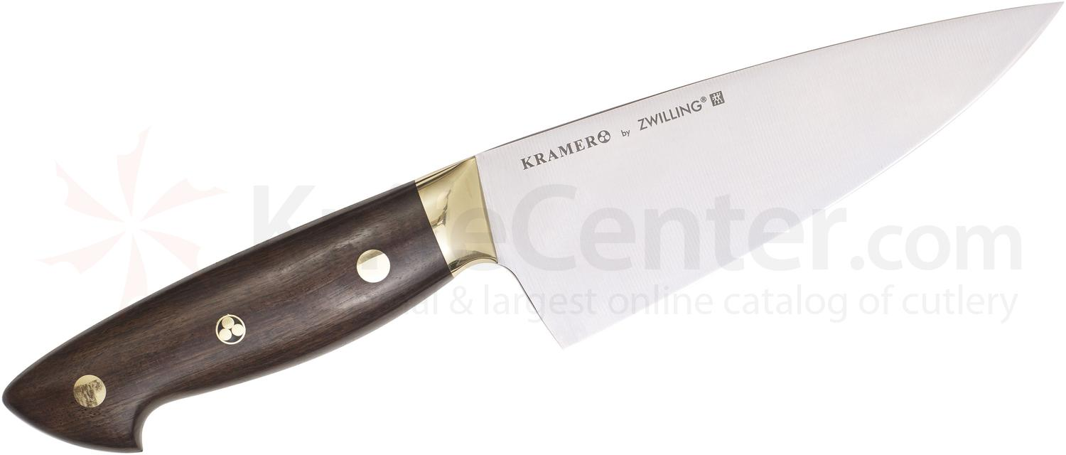 Zwilling J.A. Henckels EUROLine Bob Kramer 6 inch Chef's Knife, Grenadille Wood Handle