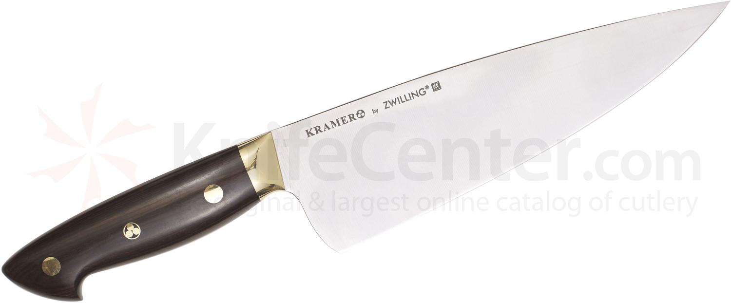 Zwilling J.A. Henckels EUROLine Bob Kramer 8 inch Chef's Knife, Grenadille Wood Handle