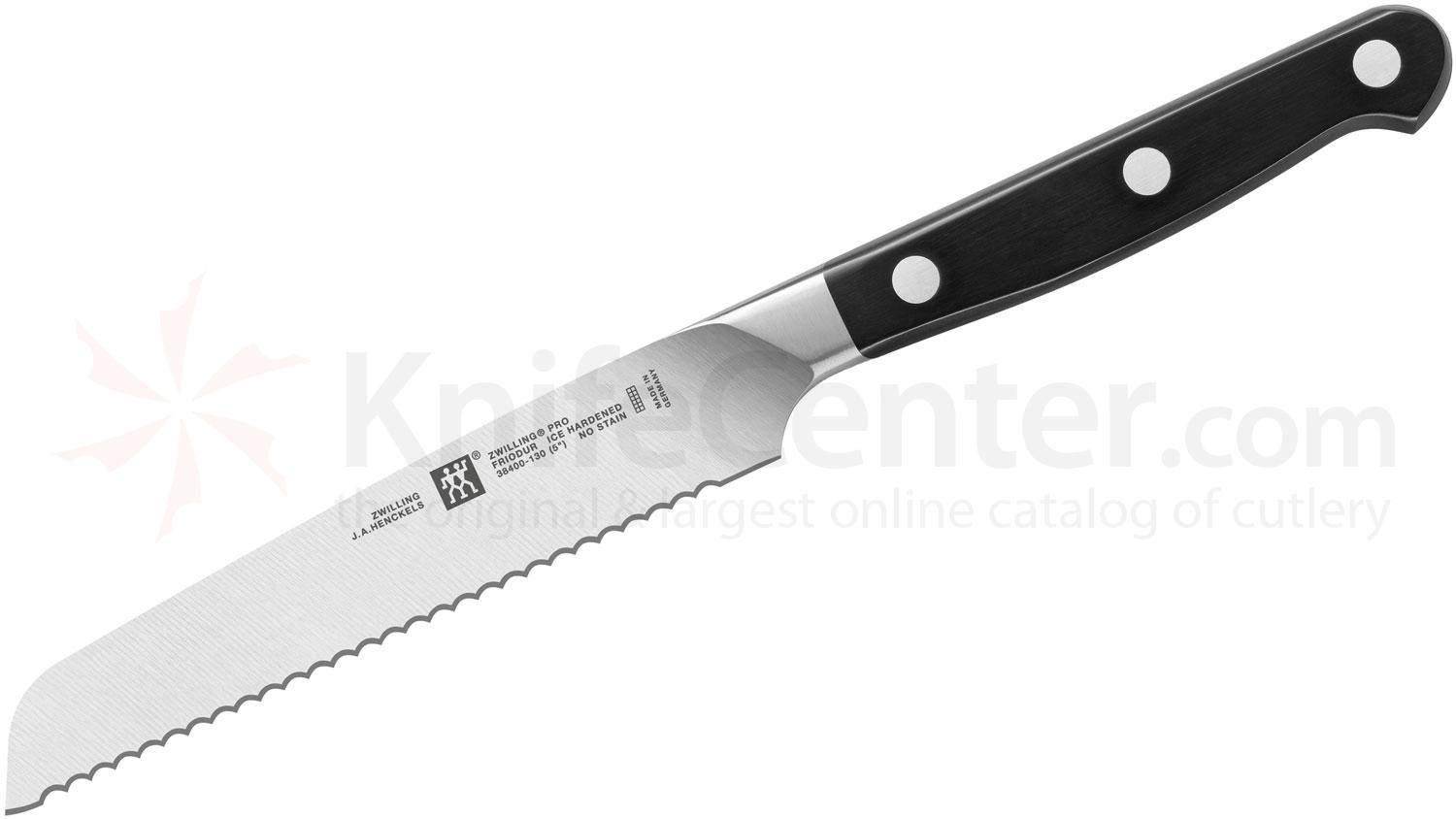 Zwilling J.A. Henckels Pro 5 inch Serrated Utility Knife