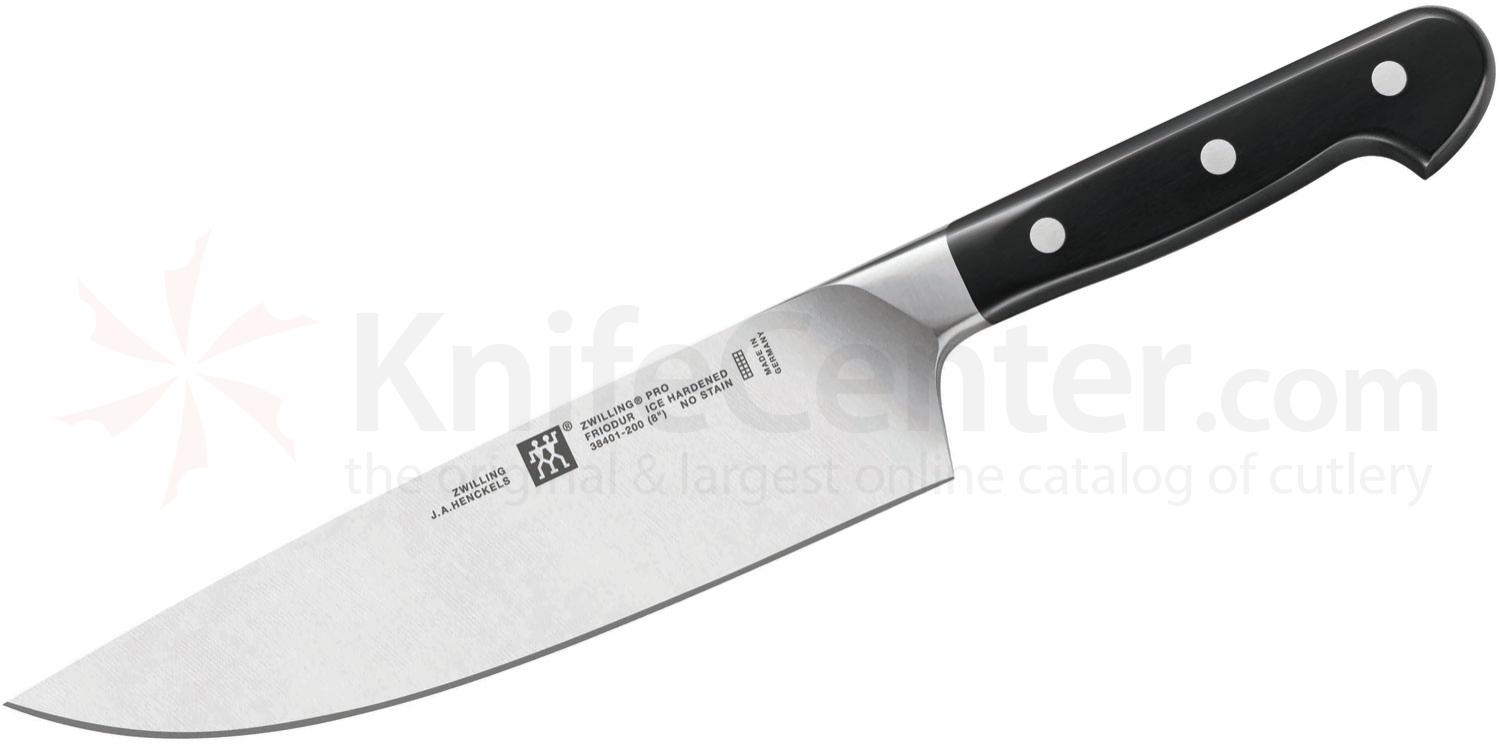 zwilling j a henckels pro 8 chef 39 s knife knifecenter 38401 203. Black Bedroom Furniture Sets. Home Design Ideas