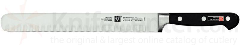 Zwilling J.A. Henckels TWIN Pro 'S' 10 inch Slicing Knife, Hollow Edge Round End
