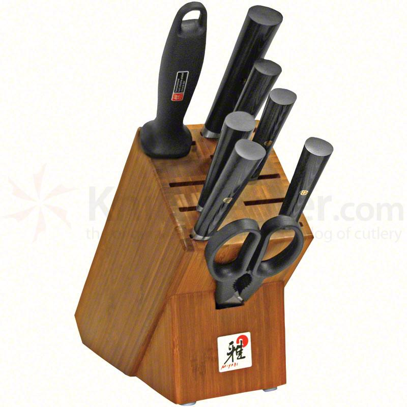 Zwilling J.A. Henckels Miyabi Mosaic 9 Piece Kitchen Block Set