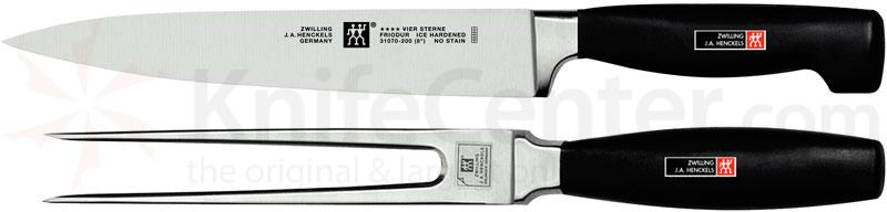 Zwilling J.A. Henckels TWIN Four Star 2 Piece Carving Set (35037-000)