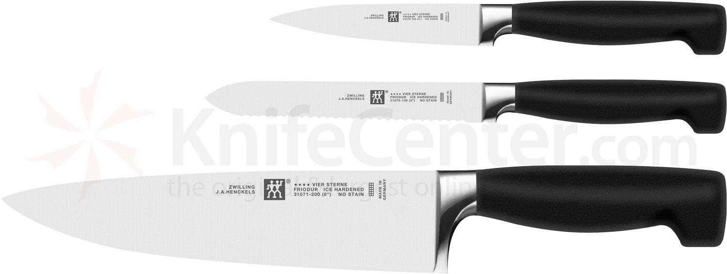 Zwilling J.A. Henckels TWIN Four Star 3 Piece Set