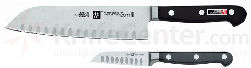 Zwilling J.A. Henckels TWIN Pro 'S' 2 Piece Deluxe Asian Knife Set