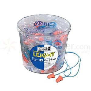 Howard Leight Super Leight Corded Ear Plugs, 50 Pairs Tub