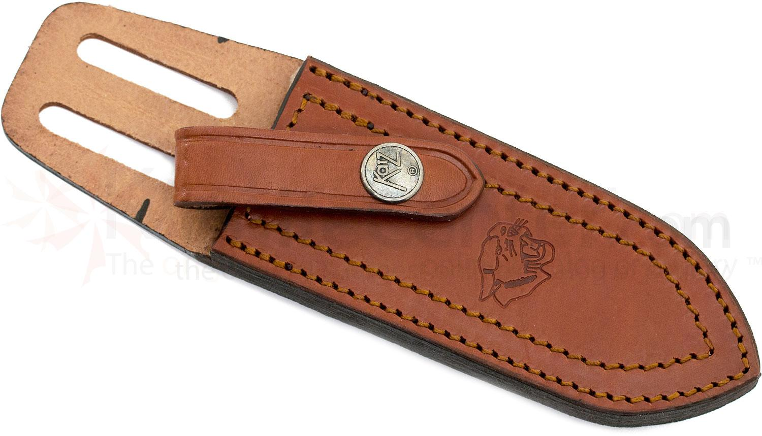 Katz Leather Friction Sheath for Avenger Dive Knife