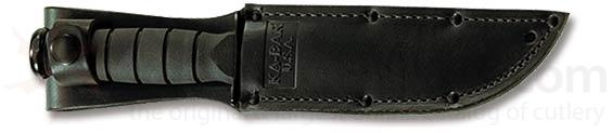 KA-BAR 1256S Black Leather Sheath Only 5.25 inch Fixed Blade Knives