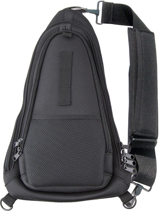 KA-BAR 1491 TDI Courier Bag, Black Polyester